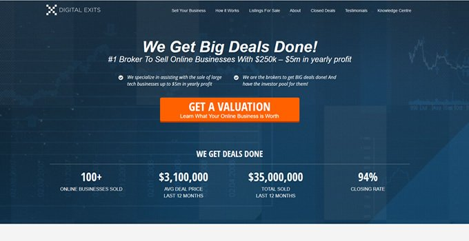 Digital Exits best website brokers