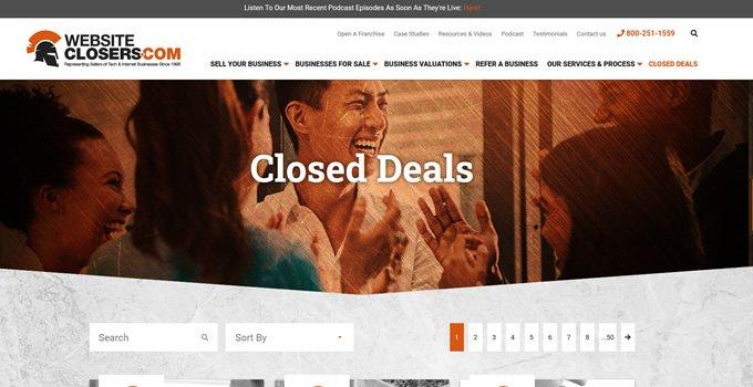 closed deals