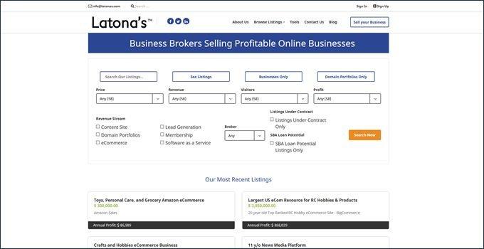 Latona's business broker review