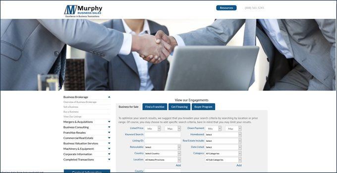 Murphy Business Brokers review types