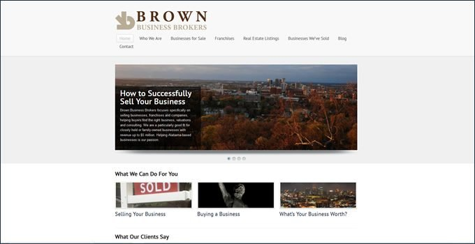 Brown Business Brokers review
