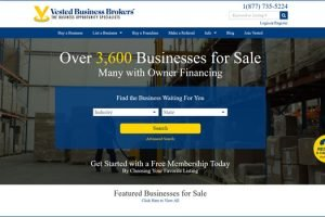 Vested Business Brokers Review (Must Read First Before You Use This Business Broker)